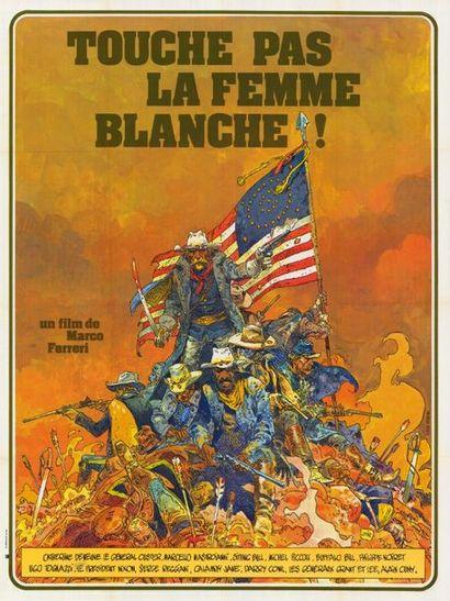 5 ex. - NON TOCCARE LA DONNA BIANCA - 1973