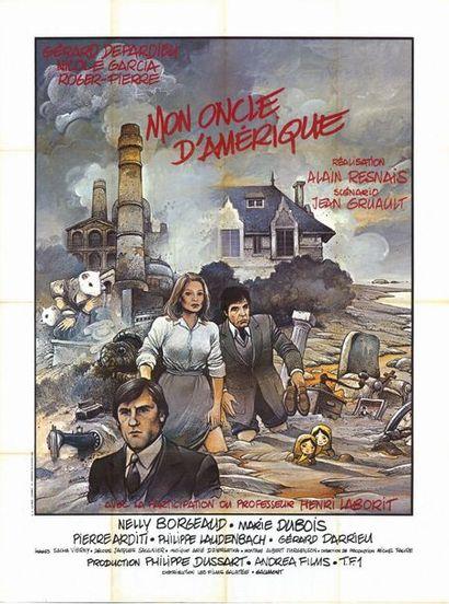10 ex. - MON ONCLE D'AMERIQUE - 1980