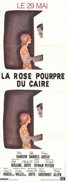 2 ex. - PURPLE ROSE OF CAIRO (the) - 1984
