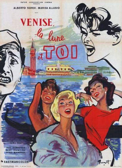 4 ex. - VENEZIA, LA LUNA E TU - 1958