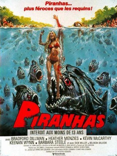 3 ex. - PIRANHA - 1978
