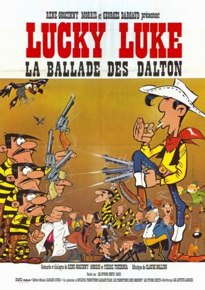 4 ex. - LA BALLADE DES DALTON - 1971