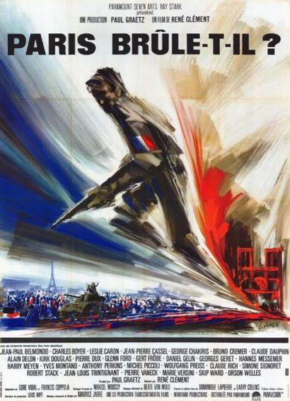 3 ex. - PARIS BRULE-T-IL ? - 1966