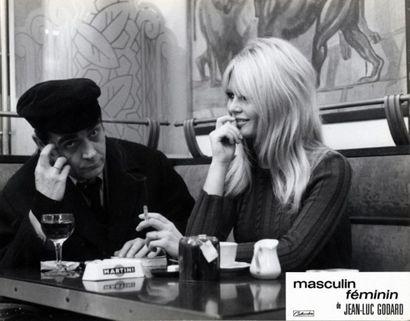 MASCULIN FEMININ - 1966 - Brigitte Bardot