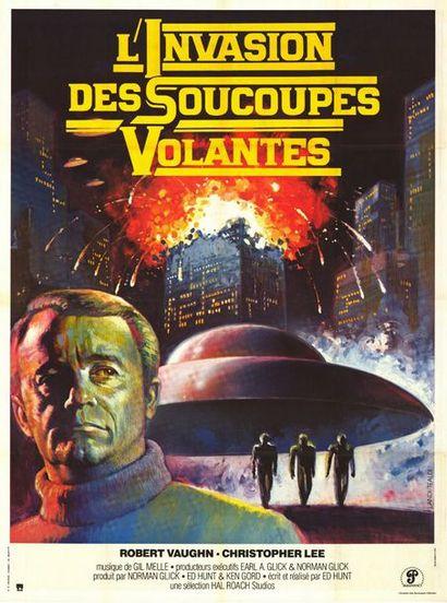 3 ex. - STARSHIP INVASION - 1977