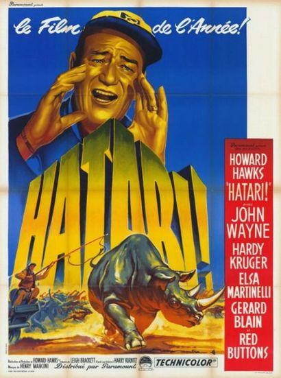 3 ex. - HATARI - 1962