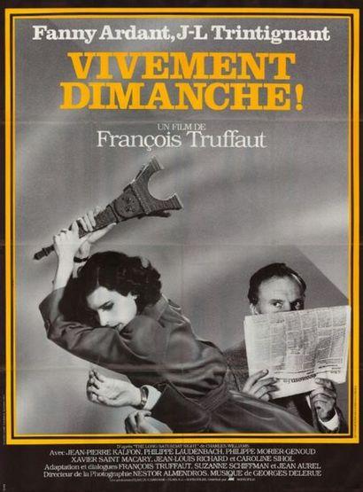 2 ex. - VIVEMENT DIMANCHE - 1983