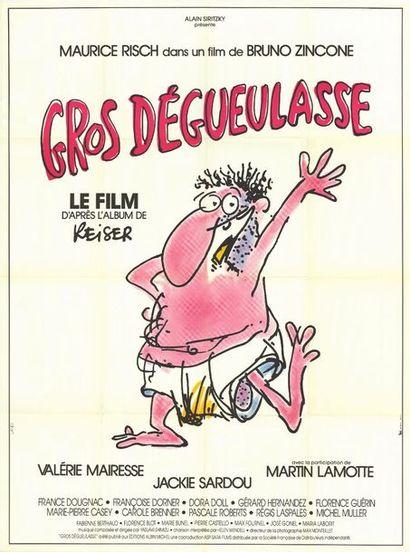 GROS DEGUEULASSE - 1985 LANDI - Affiche originale Française, 120x160cm - 5 affiches...