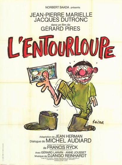 ENTOURLOUPE (l') - 1980 REISER - Affiche originale Française, 120x160cm - 3 affiches...