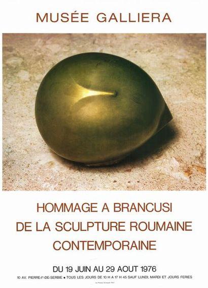 BRANCUSI - 1976