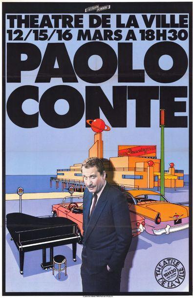 Paolo CONTE au théatre de la Ville