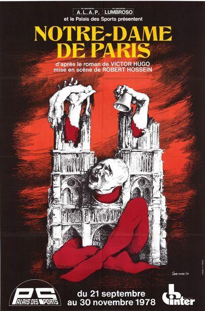 8ex. - NOTRE DAME DE PARIS - 1978