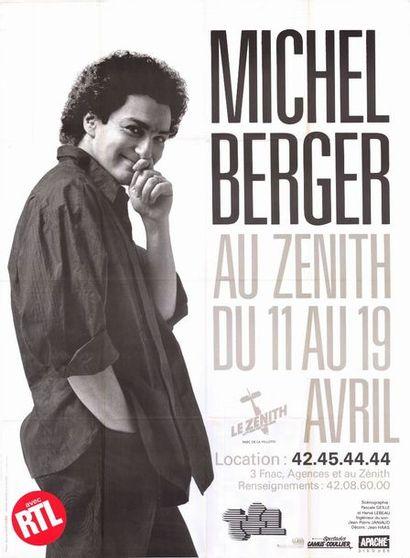 2ex. - Michel BERGER au Zenith