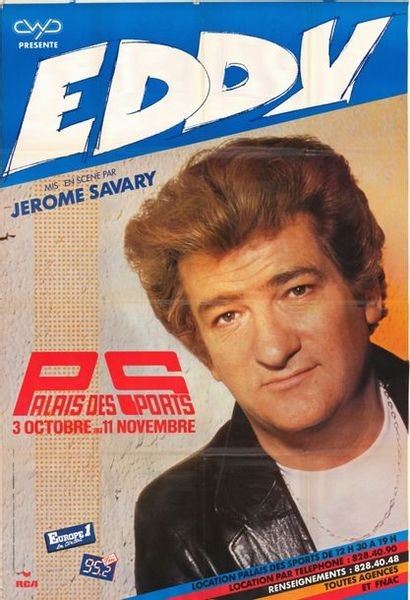 6 ex. - Eddy Mitchell au palais des Sports