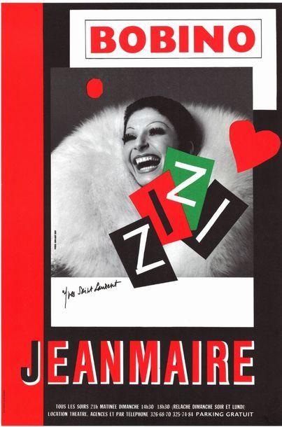 4 ex. - ZIZI JEANMAIRE par Jean Loup Sieff