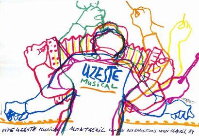 2 ex. - UZESTE MUSICAL