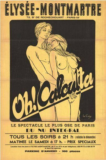 OH! CALCUTTA - Elysées Montmartre