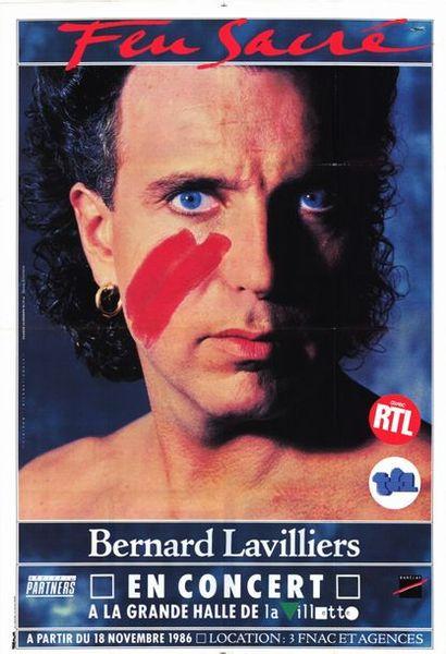 Bernard LAVILLIERS - FEU SACRE