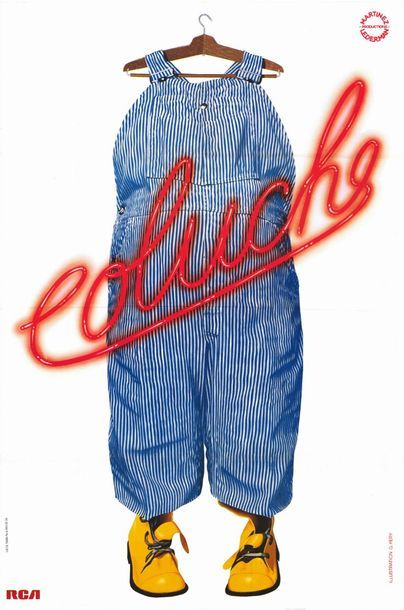 8 ex. - COLUCHE - ADIEU AU MUSIC HALL