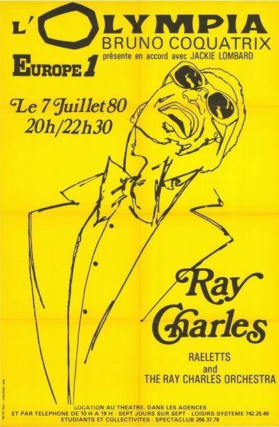 RAY CHARLES - OLYMPIA