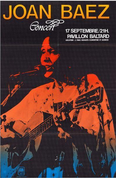 10ex. - JOAN BAEZ - 1981