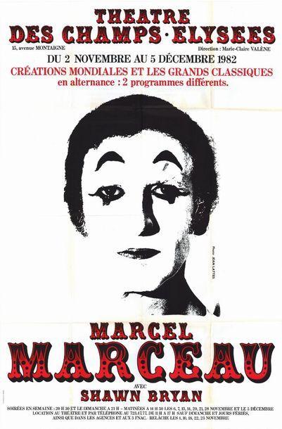2 ex. - Marcel MARCEAU - 1982