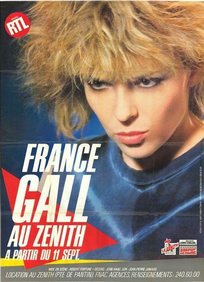 2 ex. - France GALL au Zenith