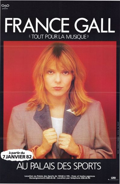 2 ex. - France GALL  - Tout pour la Musique