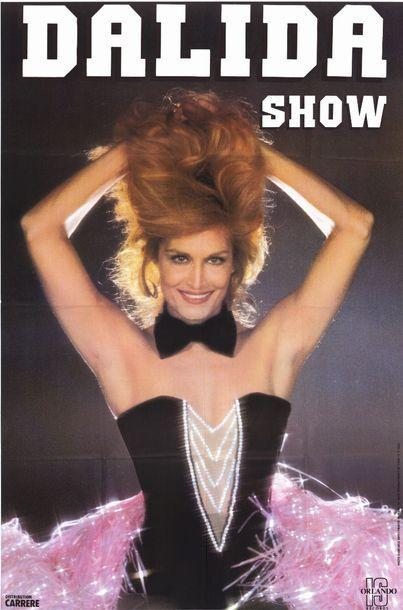 4 ex. - DALIDA SHOW