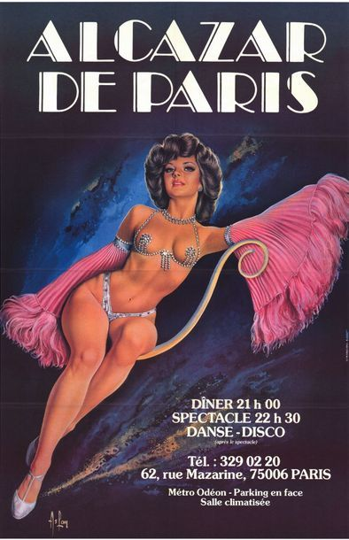 2 ex. - ALCAZAR DE PARIS par ASLAN