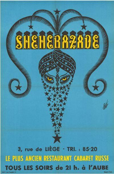 4 ex. - SHEHERAZADE par ERTE