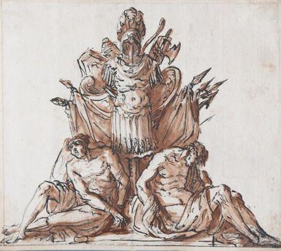 Attribué à Charles de LA TRAVERSE (Paris 1725-1787)