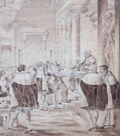 Ecole FRANÇAISE vers 1820