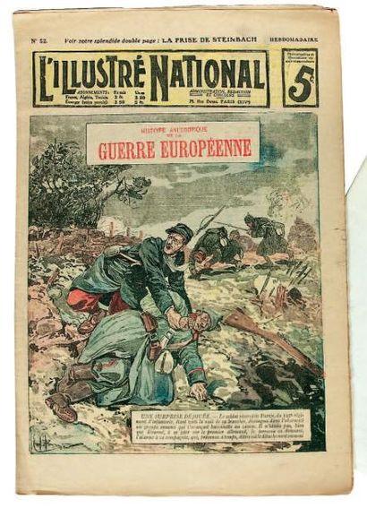 L'ILLUSTRE NATIONAL, Histoire anecdotique...