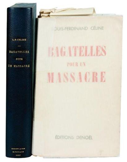 BAGATELLES POUR UN MASSACRE. Denoël Paris...
