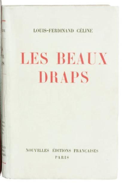 LES BEAUX DRAPS. Denoël Paris 1941. Edition...