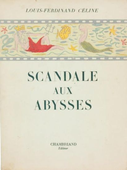 SCANDALE AUX ABYSSES. Chambriand Editeur...