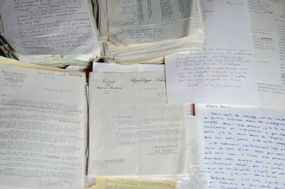 Correspondance d'après guerre reçue par Rene...