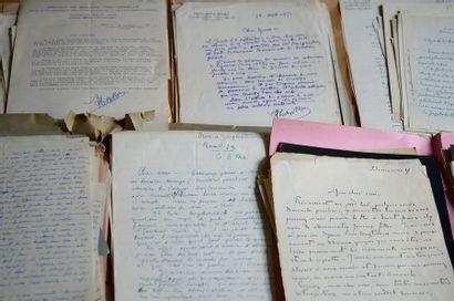 Correspondances anciennes. Plus de 250 lettres...