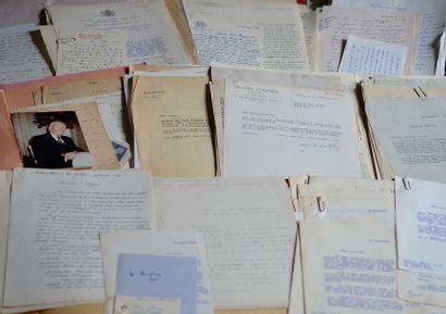 Correspondances diverses. Environ 150 lettres...