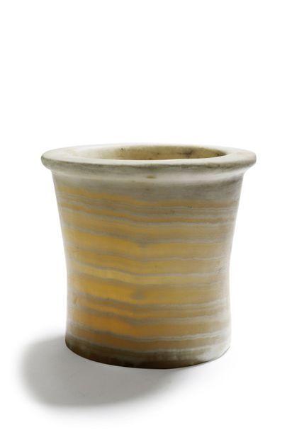 Vase en albâtre Egypte, Ancien Empire H....
