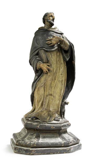 Saint Dominique Le saint est représenté tenant...