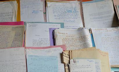 Correspondance moderne reçue par René Huyghghe....