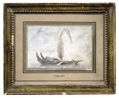 ADRIEN MANGLARD (LYON 1695 - ROME 1760)