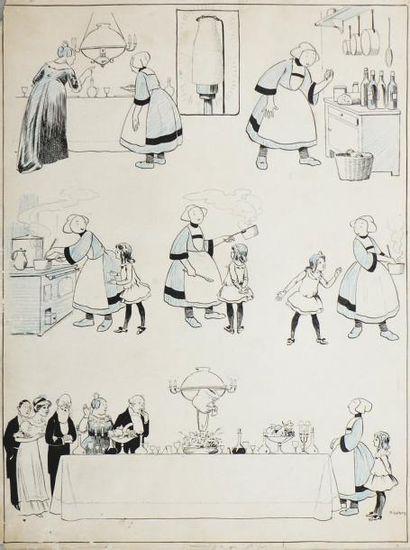 PINCHON. (Emile-Joseph Porphyre. 1871-1953)