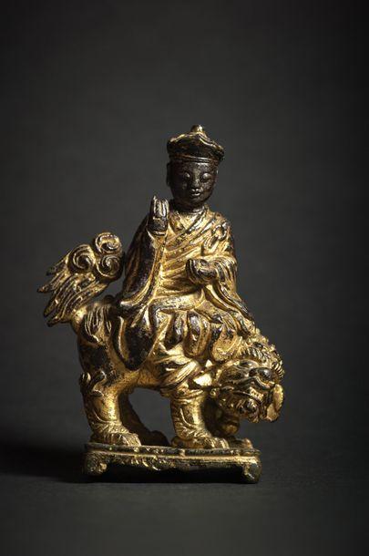 TRAVAIL SINO-TIBETAIN - Epoque MING (1368 - 1644)