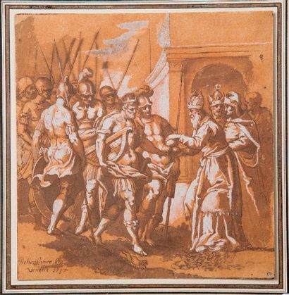 Attribué à Johann ROTTENHAMMER (Munich 1564 - Augsbourg 1625)