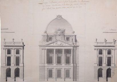 Attribué à Jacques Ange GABRIEL (Paris 1699 - 1782)