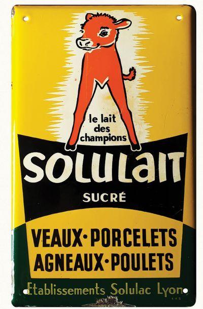 SOLULAIT Plaque émaillée pour Solulait, alimentation...