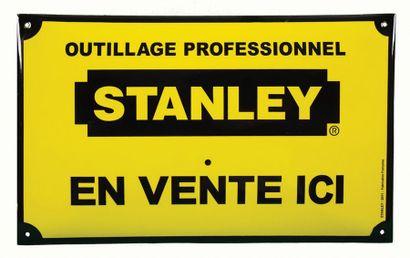 STANLEY Plaque émaillée pour l'outillage...